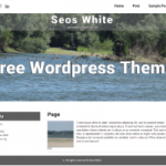 Seos White – WordPress Theme
