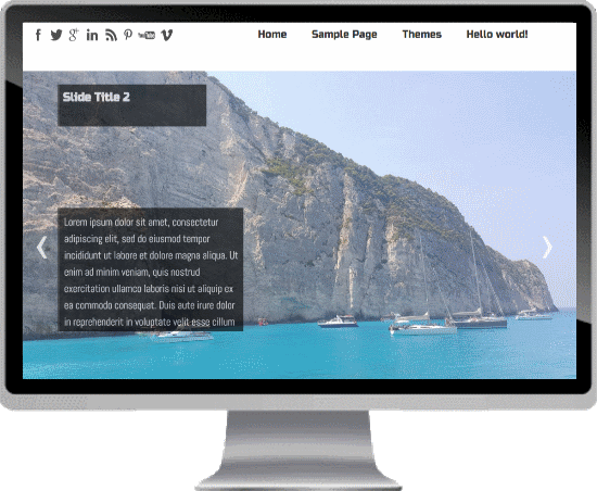 Wordpress Seos White Theme