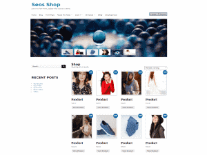 WordPress Shop Theme