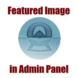 Featured Image in Admin Panel