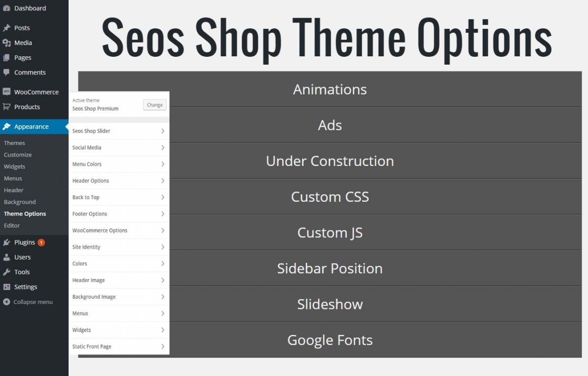 seos shop options