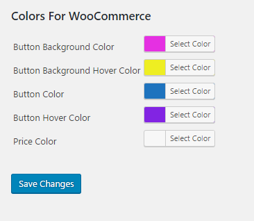 Colors For WooCommerce - WordPress Plugin
