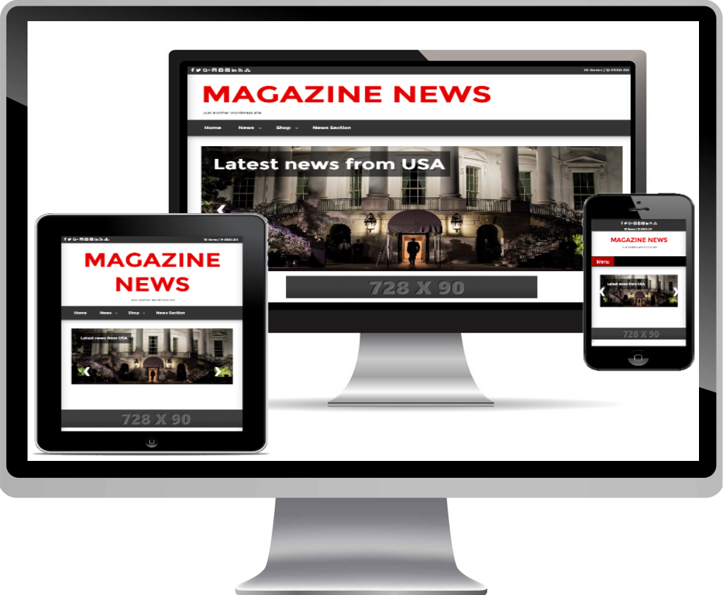 Wordpress Magazine News Theme