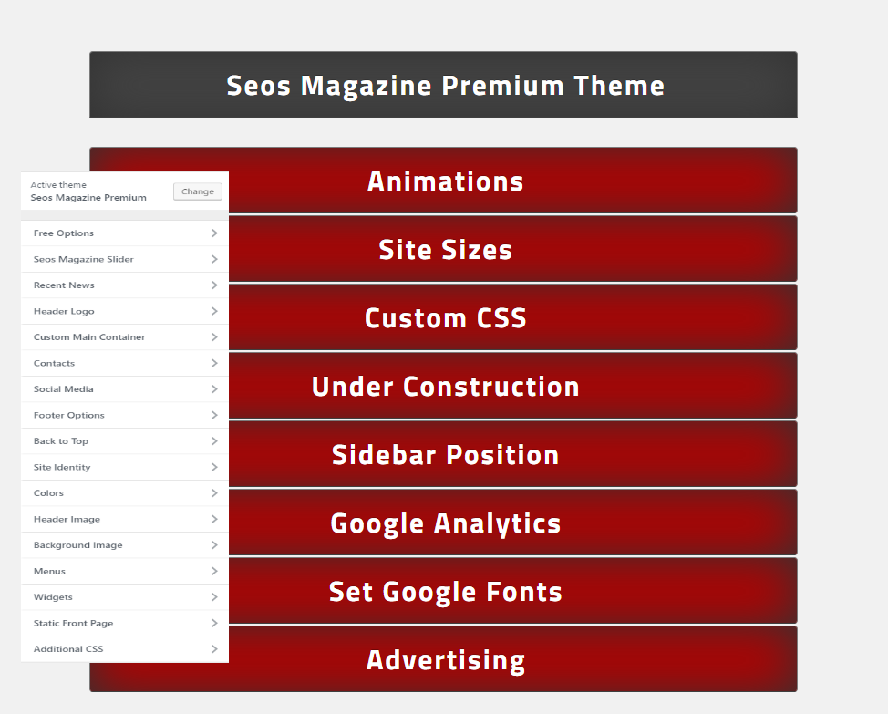 seos magazine options