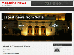 Free WordPress Magazine News Theme