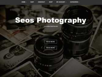 WordPress Seos Photography Theme