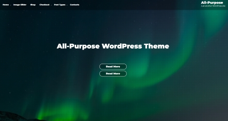 Free WordPress All-Purpose Theme