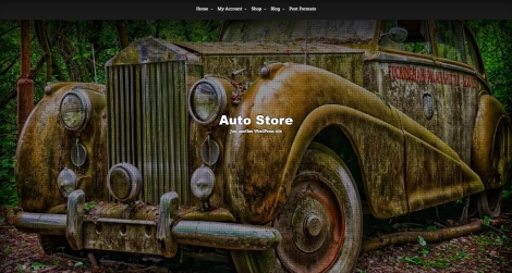 Free WordPress Auto Store Theme