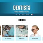 WordPress Dentists Theme