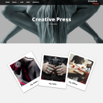Creative Press WordPress Theme